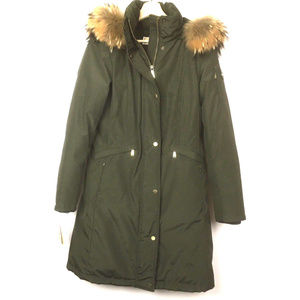 MICHAEL Michael Kors Olive Down Filled Puffer Coat